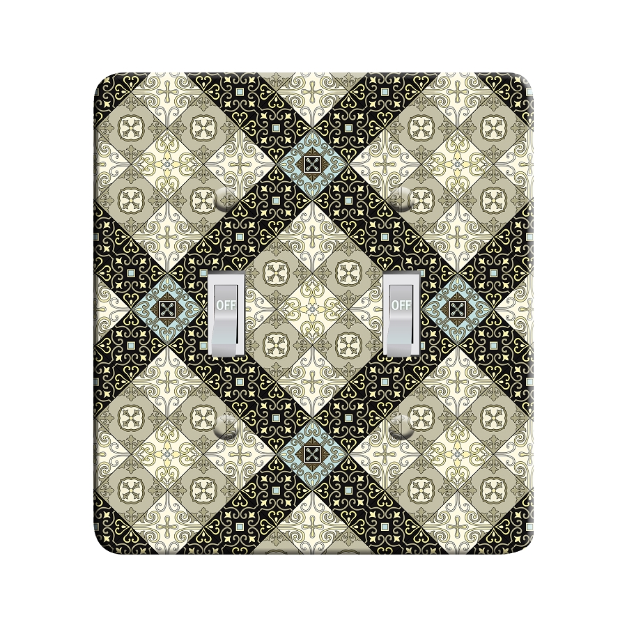 Embossi Printed  Florence Talavera - Light Switch / Outlet Cover Custom Plate Choose Style, 108 DC