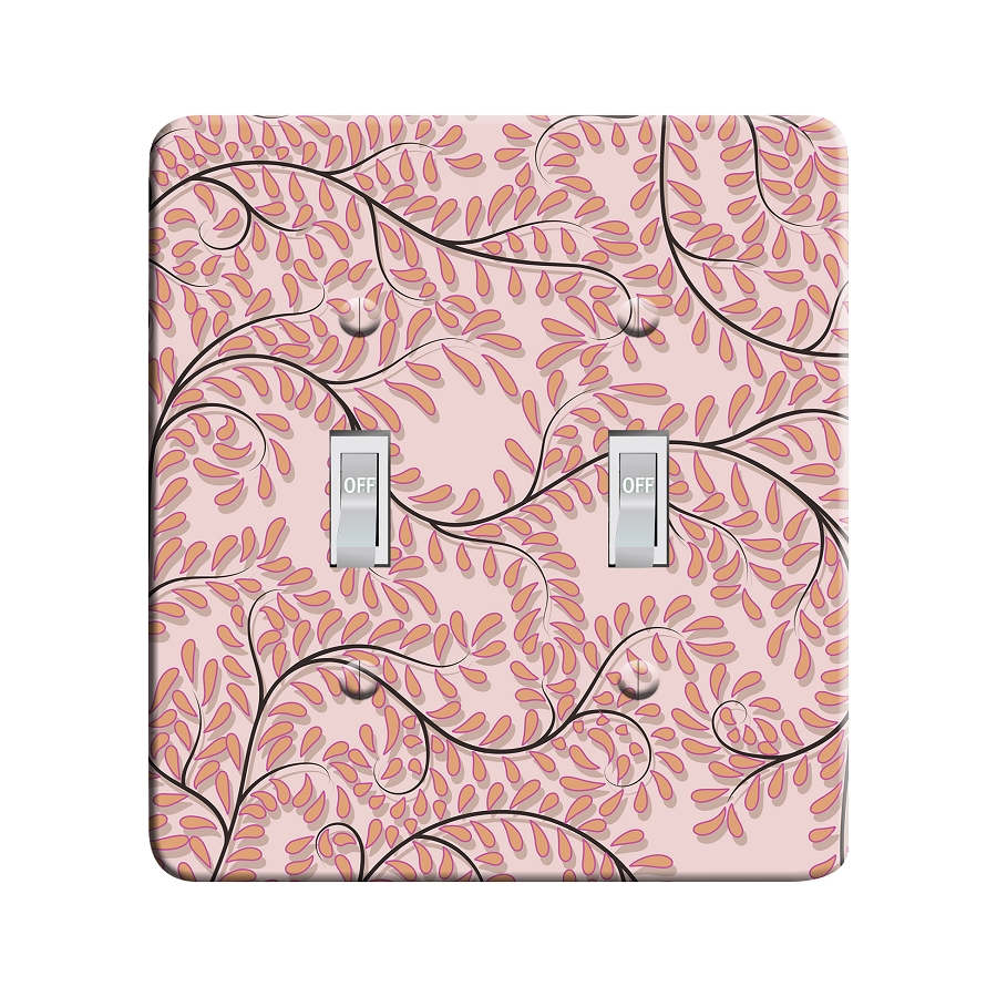 Embossi Printed Paris Willow - Light Switch / Outlet Cover Custom Plate Choose Style, 30 DB