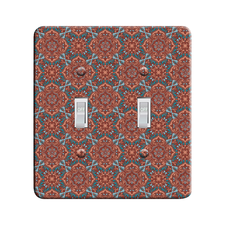 Embossi Printed Monet Zentangle - Light Switch / Outlet Cover Custom Plate Choose Style, 42 DC