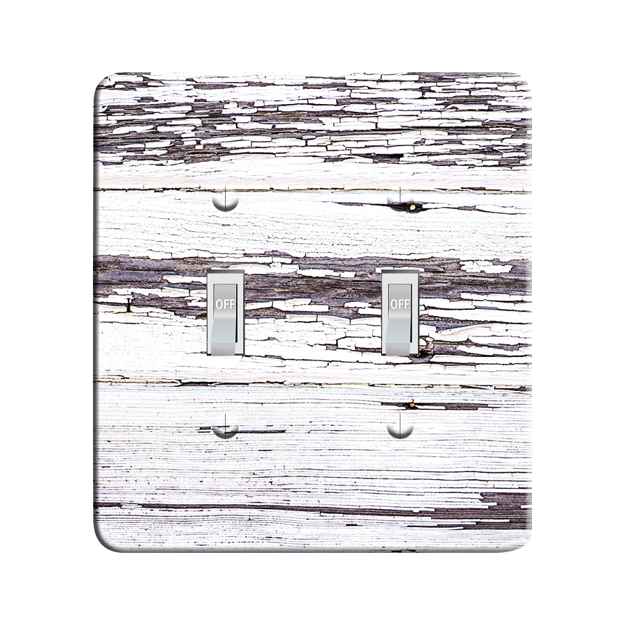 Embossi Printed  Abandoned Farm House - Light Switch / Outlet Cover Custom Plate Choose Style, 81 D