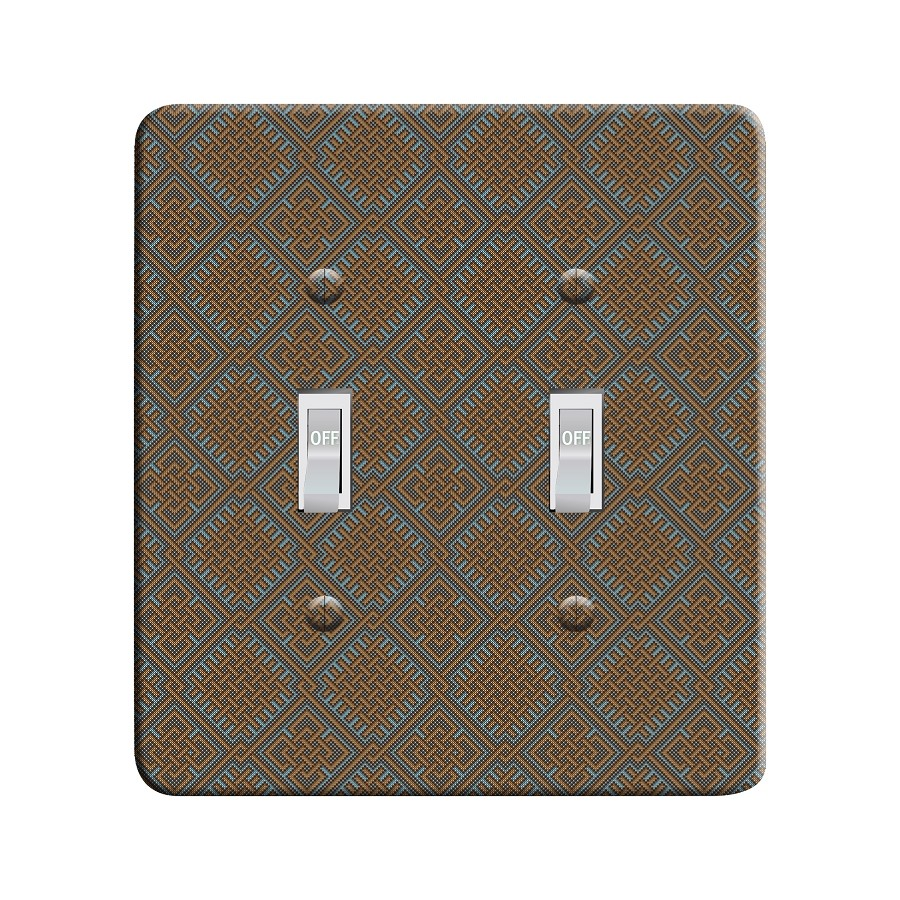 Embossi Printed  Abandoned Celtic Pattern - Light Switch / Outlet Cover Custom Plate Choose Style, 81 DA