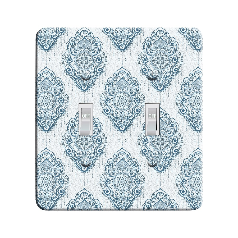 Embossi Printed  Monet Tulip Batik - Light Switch / Outlet Cover Custom Plate Choose Style, 96 LB